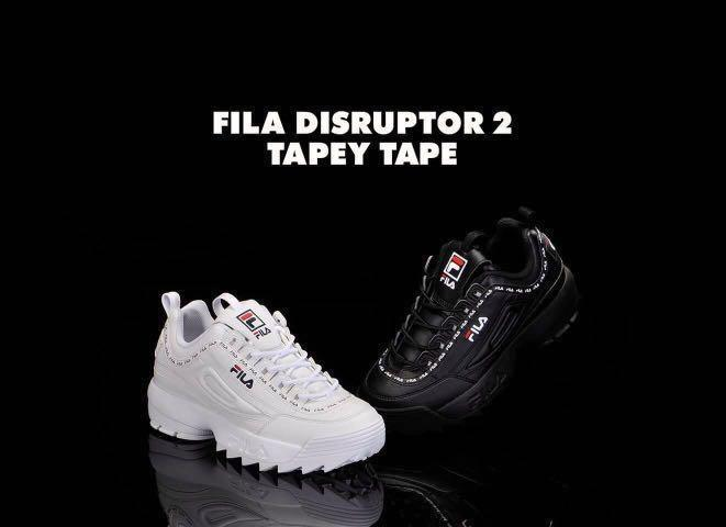 AUTHENTIC FILA DISRUPTOR 2 TAPEY TAPE