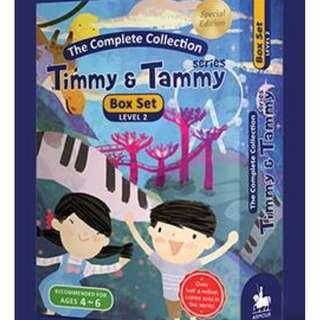 TIMMY & TAMMY BOOKS BOX SET - LEVEL 2