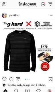 Ghard Raglan Long Sleeve + Free Fingerboard Key Chain