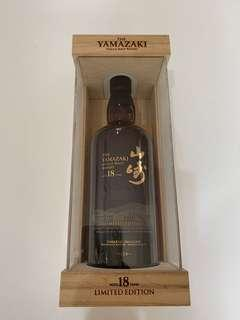Yamazaki Single Malt Whiskey 18years Ltd Edition