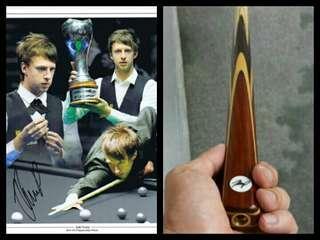 ☝NEW💃 Judd Trump Signature 1pc John Parris special replica snooker cue 桌球桿 杆 Q棍  (( 球杆可查看我的銷售出紀錄 ))