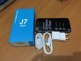 Samsung J7 duo black 3/32gb