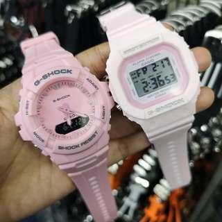 G-shock Couple Pink