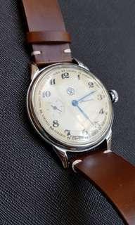 Molnija hand winding watch