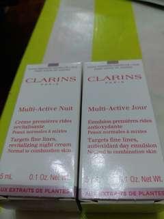 Clarins samples