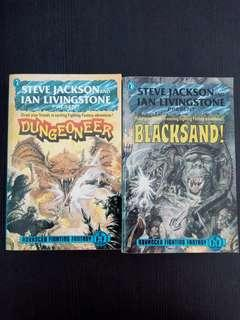 Advanced Fighting Fantasy Blacksand and Dungeoneer