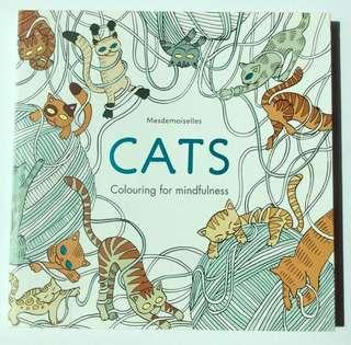 Cats: Colouring Book for Mindfulness