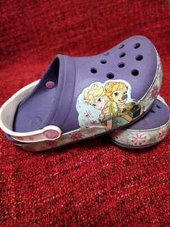 🚚 🏅純正品Crocs女童尺寸C12 腳長18.5公分