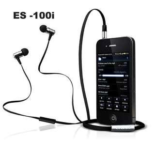 🚚 Awei ES100i Ultra Bass Earphones with Mic