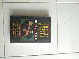 Reef Fish identification diving book