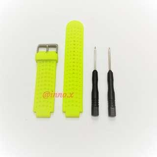 🚚 New - Forerunner 220/230/235/620/630/735XT Compatible Strap (LIME)