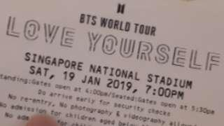 WTS BTS LOVE YOURSELF WORLD TOUR