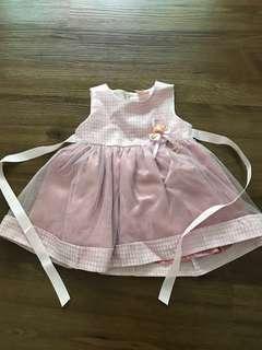 BN Pink Gown Birthday Gown