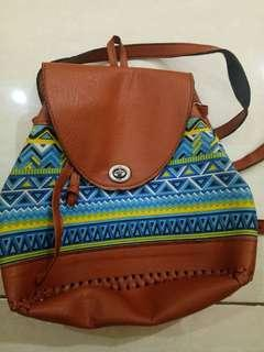 Aztec small backpack