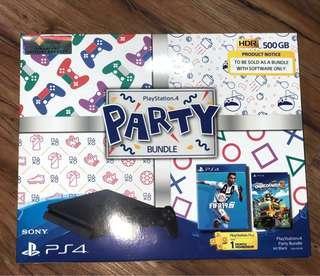 [* LAST ONE*]  PS4 Party Bundle 500GB (Jet Black)