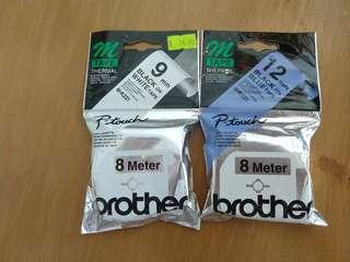 Brother 8 meters thermal tapes