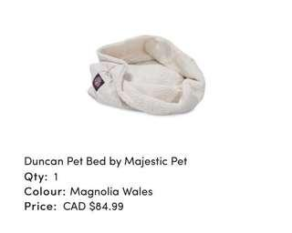 Brand new Duncan cat or dog bed