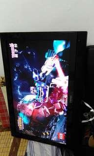 """二手台灣奇美Chimei 32""""吋,零件瑕疵液晶顯示器,used32""""spare parts defective LCD tv display"""