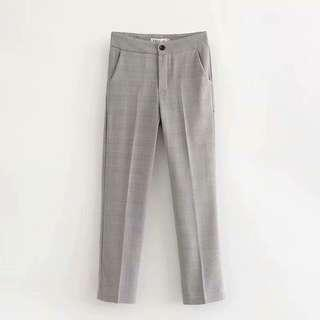 Zara inspired checker Vintage working Pants