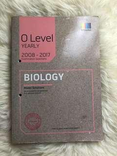 Pure biology O-level TYS