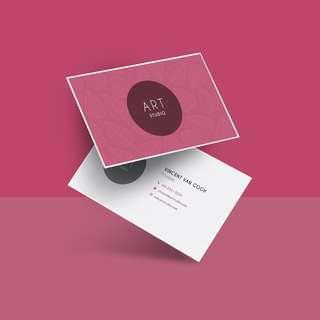 Design Services (Namecard, Brochure, etc.)