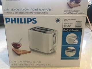 Philips Toaster / Bread Toast / Compact White