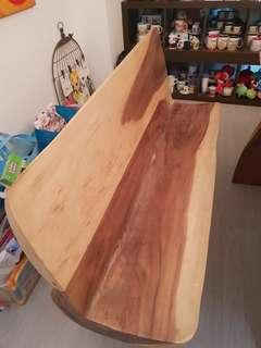 Beautiful solid wooden bench