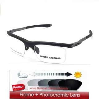 Frame + lensa photocromic ua zero switch
