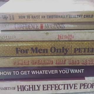 Self-Help book bundle