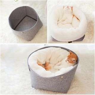Felt modern minimal, cat bed, Dog bed