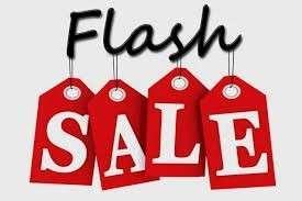 Flash sale!