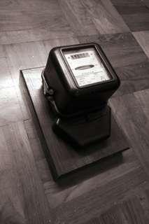 Vintage Siemens Watthour meter