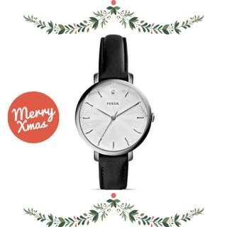🚚 [Xmas] Fossil Diamond-Accented Stainless Steel Watch