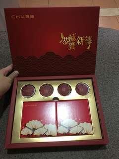 Coaster n tea set CNY