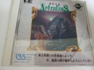 PC Engine CD rom game 魔笛傳說 (只限九龍灣地鐵站交收)