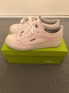 White Adidas Neosole Shoes