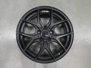 Sport rim 17 inch original Ssr gtv03 Honda civic fc mazda Toyota kia mitsubishi