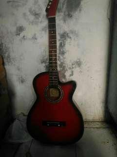 Jual gitar yamaha f 220 second