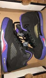 Jordan Rapters 5 Size 5.5Y
