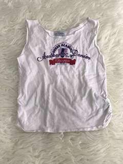 BABY GUESS White Shirt Tanktop Putih
