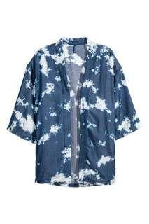 🚚 BN H&M Batik-patterned Kimono Outerwear top