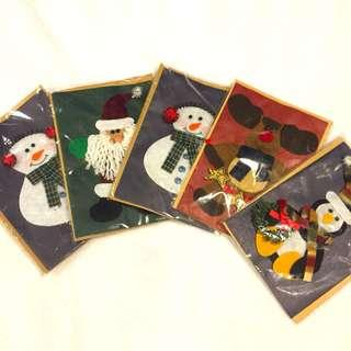 Handmade Xmas Card Set