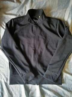 Black Ribbed Jacket
