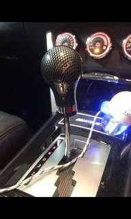 Mitsubishi Ralliart CF gear knob