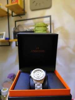全身白色陶瓷手錶 聖誕新年 情人節 女朋友禮物