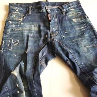 Dsquared2 jeans tidy biker sz46