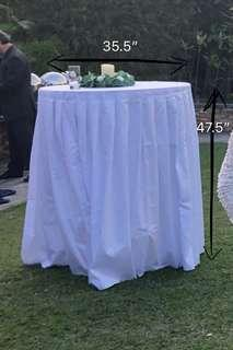 Cocktail 枱布 table cloth 婚禮枱布