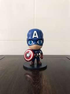 Mini Captain America Figurine