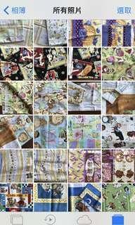🚚 [蝶古巴特~JC CHI老師專欄]美國進口絕版花色花布料,每個花色只有1~2碼(1碼=3呎),出售以碼計,每碼一單位,不零售。