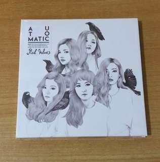 Red Velvet Automatic Version Album